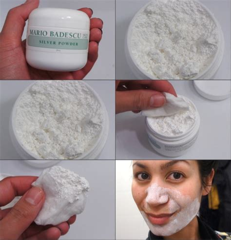 Mario Badescu Silver Powder 28gr silver powder mario badescu clear skin