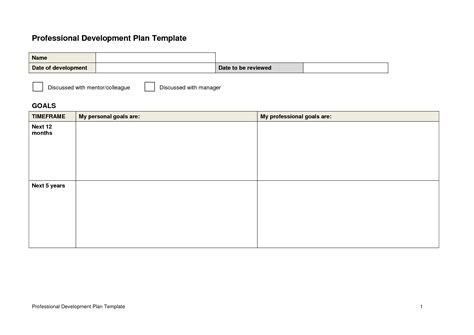 top 28 professional development plan sle development