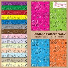 bandana pattern font pin by kelley medina on birthday pinterest