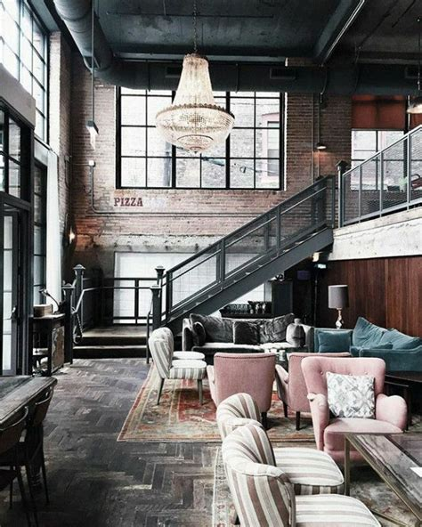 industrial home interior best 25 vintage industrial decor ideas on