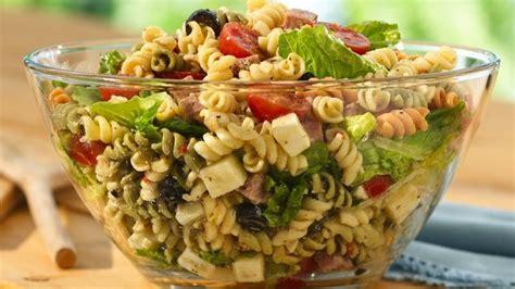 Quick Pasta Salad | quick antipasto pasta salad recipe from betty crocker