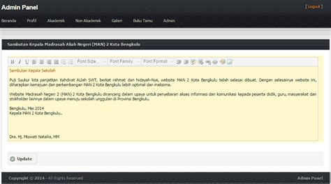 membuat web sekolah dengan php kang wibby source code web sekolah sederhana dengan php