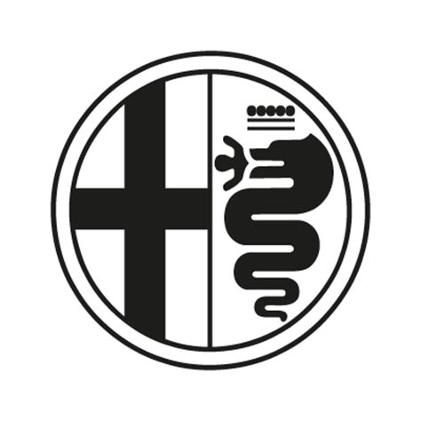 alfa romeo logo png alfa romeo black vector logo alfa romeo black logo