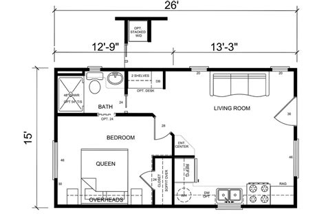small one bedroom cabin floorplans studio design