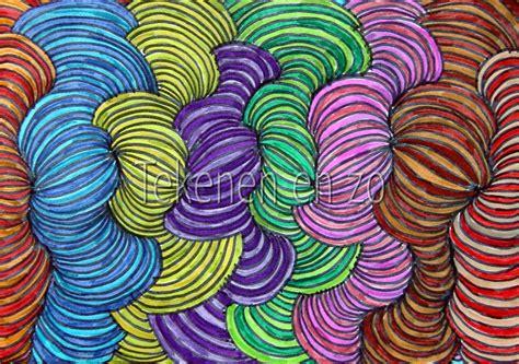 pattern art grade 5 tekenen en zo op art lijnenspektakel