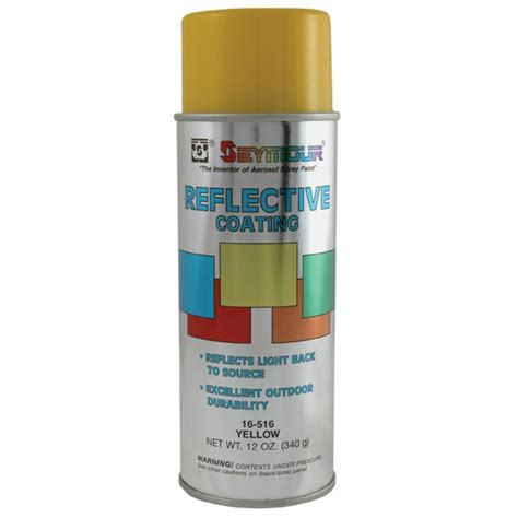 shop seymour yellow indoor outdoor spray paint at lowes