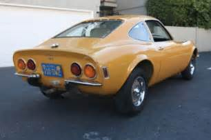1972 Opel Gt For Sale Original Ochre Opel Factory Paint 1972 Gt Bring A Trailer