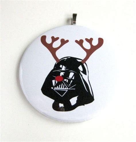 christmas ornament star wars inspired reindeer darth