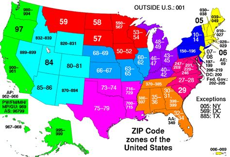 map of the united states zip codes 5 buildings so big they have their own zip code