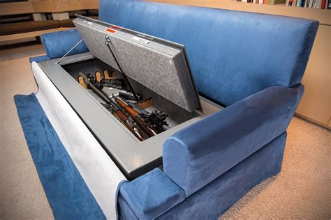 couch gun safe couchbunker bulletproof couch and gun safe mikeshouts
