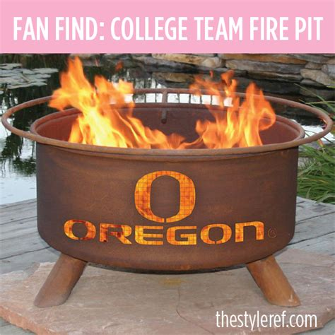 College Pits fan find college team outdoor pit the style ref