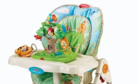 Fisher Price Rainforest Healthy Care High Chair by Products The Gossip