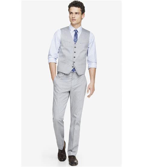 Grey Suit Vest Dress Yy