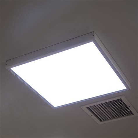 led ceiling light panel frame kit surface mount ceiling