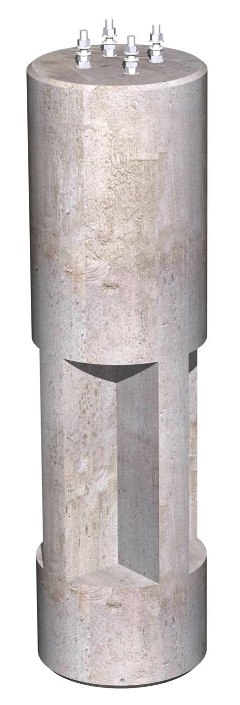 concrete light pole base 24 quot dia x7 0 quot omni light pole base oldcastle precast