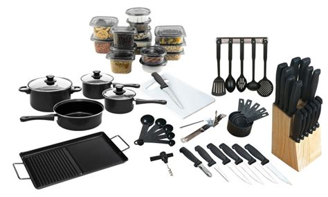 kitchen and cookware starter set 79 groupon