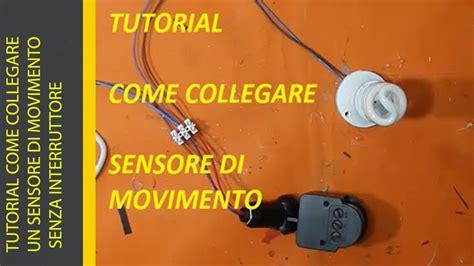 tutorial come girare un drum tutorial come collegare un sensore di movimento senza