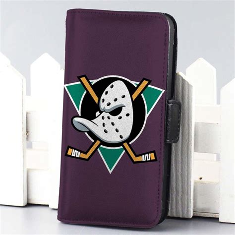 mighty ducks of anaheim hockey nhl wallet for iphone