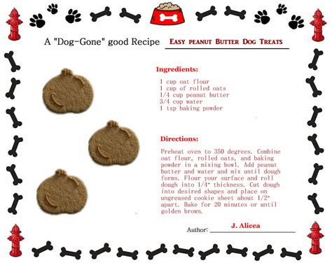 puppy treat recipes healthy biscuit recipes oats oatmeal about treats