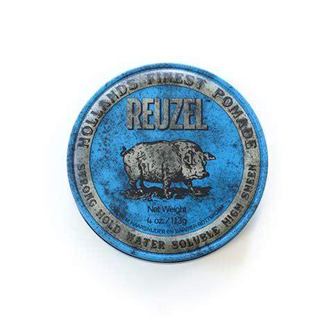 Reuzel Blue Waterbased Pink Oilbased reuzel blue strong hold high sheen pomade reuzel pomade