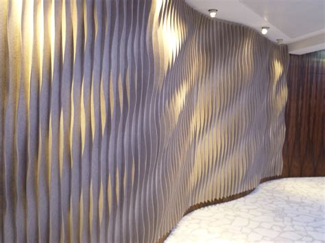 decorative acoustical wall panels curved decorative acoustical panels by kyyr 246 quinn