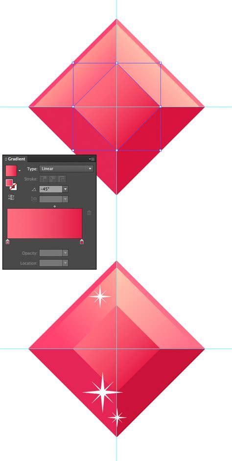 vector gem tutorial create a set of flat precious gems icons in adobe illustrator