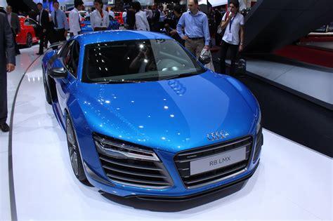 L Lmx l audi r8 lmx scintille au mondial de l automobile l argus