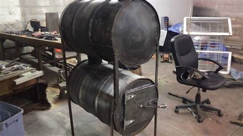 barrel stove build no kit part 4