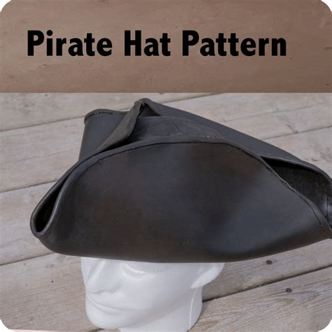 pattern pirate hat felt pattern shop lost wax