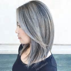 black lowlights in white gray hair 30 shades of grey silver and white highlights for eternal