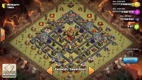 clash of clans th10 war base layout th10 war base farming base layouts 2017 updated
