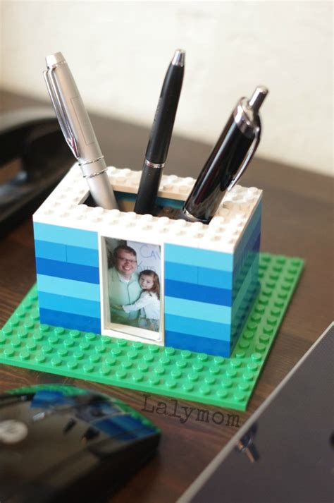 Lego Gift Card Balance - rad diy pen holder kids can make with lego lalymom