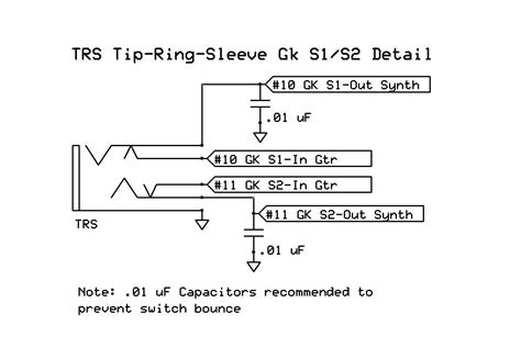 trs to ts wiring diagram xlr to 1 4 pinout