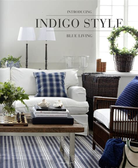home decor color trend navy blue