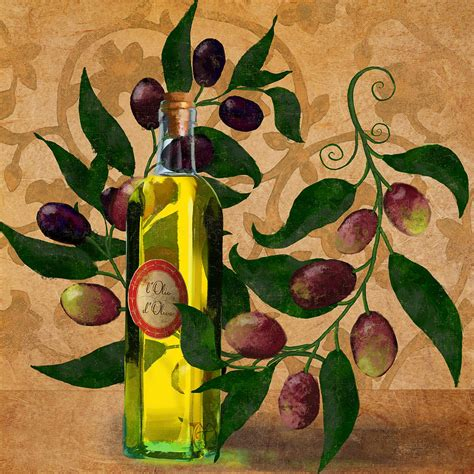 kitchen paintings l olivo d oliva olives italian food olive oil kitchen art painting by tina lavoie
