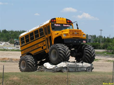 monster truck bus videos monster truck bus stone cold country