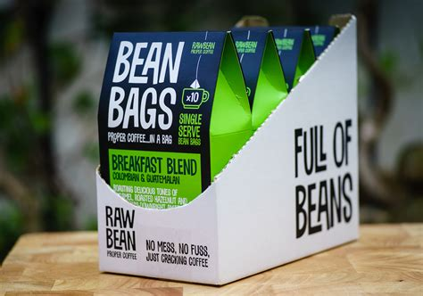 Quality, With Strings Attached: UK?s Raw Bean Launches Tea Like Coffee Bags   Daily Coffee News