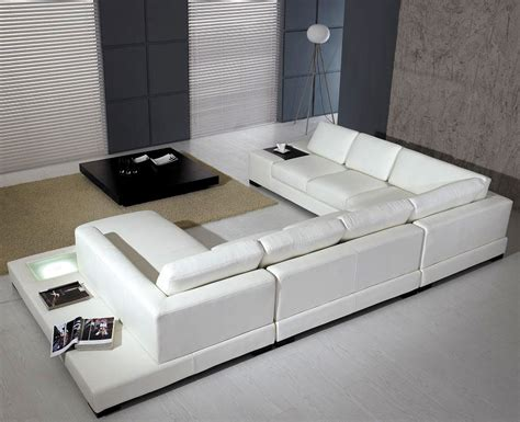 White Sectional Sofa Leather T35 White Leather Sectional Sofa Leather Sectionals