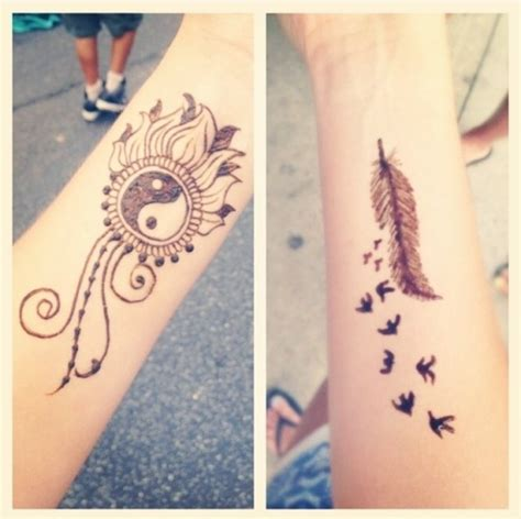 henna tattoos on the arm tumblr wrist henna