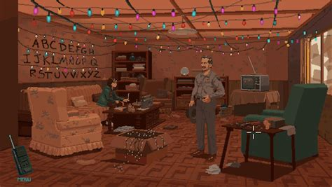 Interior Up Lights Artist Brilliantly Imagines Stranger Things As An