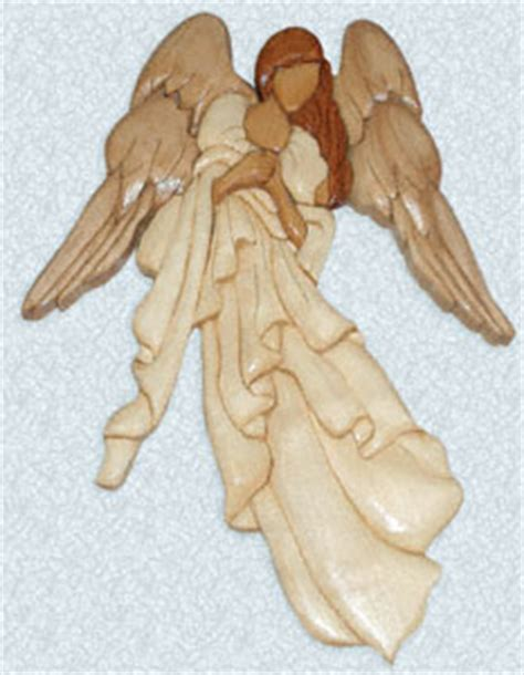 wood pattern for angel nativities angels charlie s angel intarsia pattern