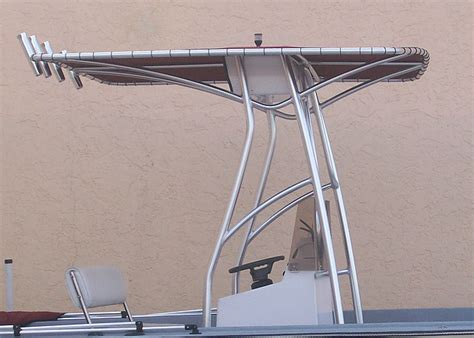 boat t top welding custom boat t tops get a t top for your boat ace welding