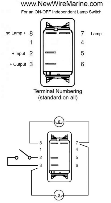 carling rocker switch independent l wiring diagram