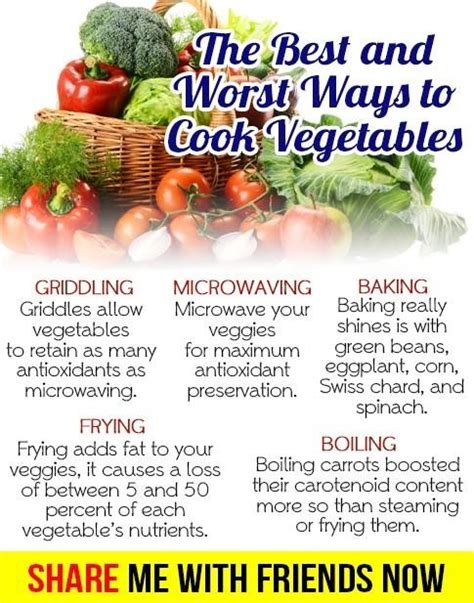 9 Basic Ways To Prepare Vegetables by The Best And Worst Ways To Cook Veggies Trusper