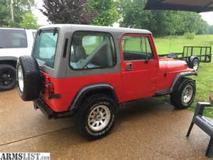 Jeep 89 Wrangler Armslist For Sale Trade 89 Jeep Wrangler