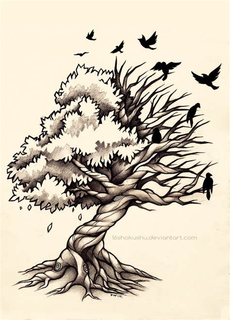dead tree tattoo designs 1000 ideas about tree side on tree