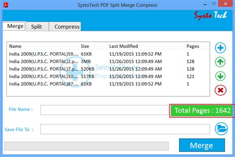 compress pdf pdfsam systotech pdf split and merge tool specifications