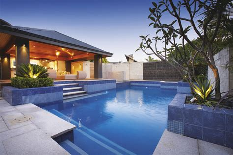 Backyard With Pool Ideas Backyard Landscaping Ideas Swimming Pool Design Homesthetics Inspiring Ideas For Your Home
