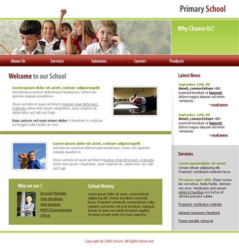 good templates for website good platform website template 3341 education kids