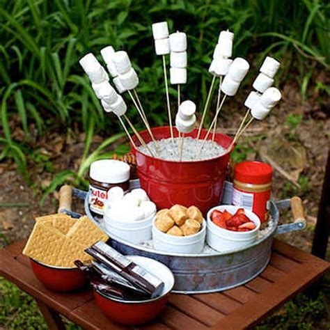 backyard party food ideas martie knows parties backyard quot cout quot party myrecipes